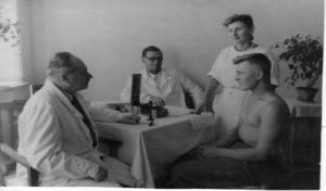 Курорт Гопри 1949 р. Гінзбург
