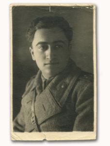 Голгер Наум Павлович в армії